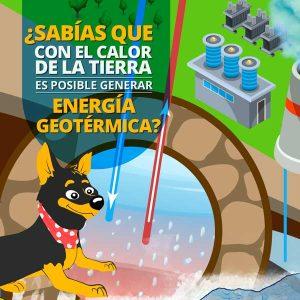 Con el calor de la tierra es posible generar energía geotérmica