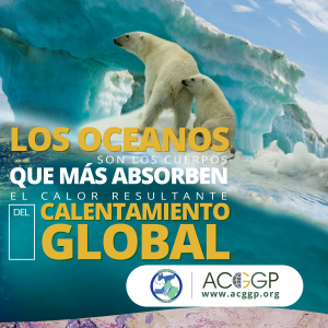los oceanos absorben calor del calentamiento global