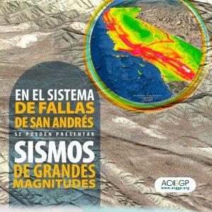 En el sistema de fallas de san Andrés se pueden presentar sismos