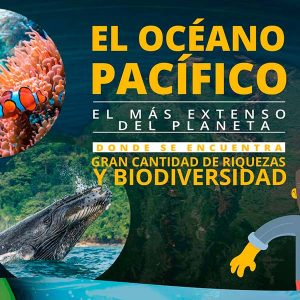 El océano pacífico eel mas extenso del planetas