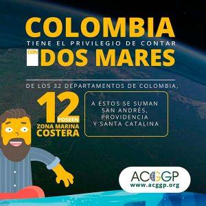 Colombia cuenta con dos mares