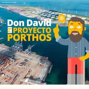 Don David en el proyecto Porthos