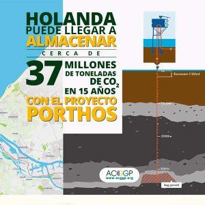 Paises bajos puede almacenar 37 millones de toneladas de CO2