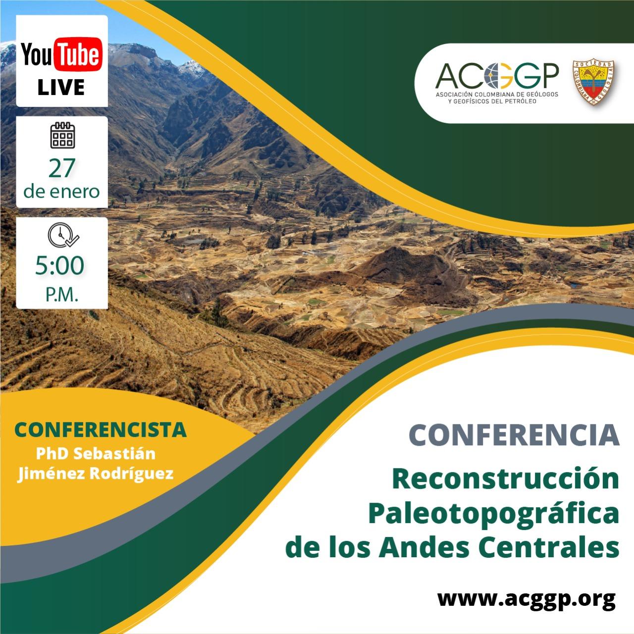 Reconstrucción Paleotopográfica de los Andes Centrales