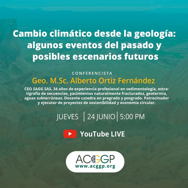 Conferencia Cambio climático desde la geología