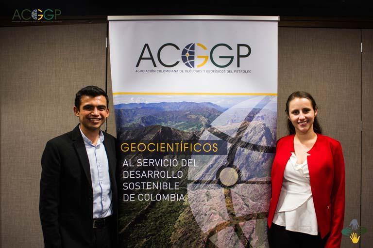 Dos jóvenes profesionales miembros ACGGP