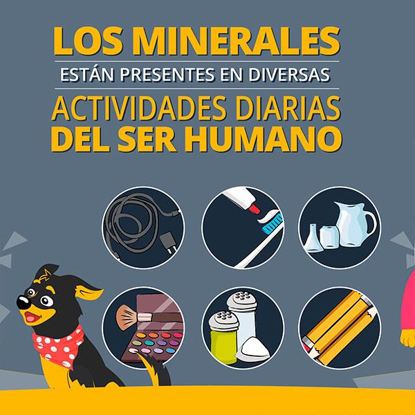 Minerales en las actividades diarias