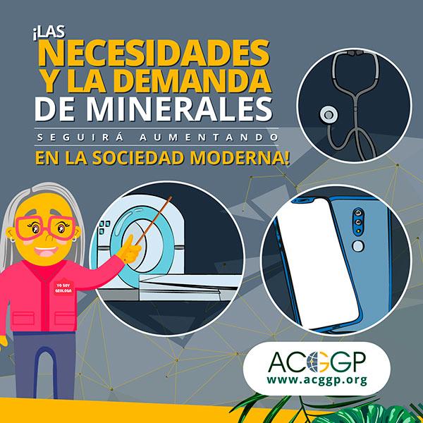 Necesidades y demanda de minerales