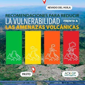 `recomendaciones para reducir la vulnerabilidad frente a las amenazas volcánicas